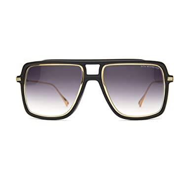 314fa0a44591 Image Unavailable. Image not available for. Color  NEW Dita Westbound  Sunglasses 19015A Matte Black 18K Gold ...