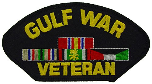 Gulf War Veteran Patch Military Gifts Patches for Jackets Hats (Gulf War Veteran Patch)