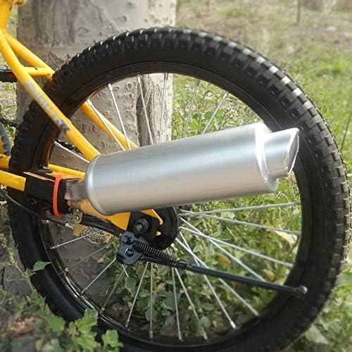Dilwe Bicicleta Turbo Tubo Sistema de Sonido de Escape de Bicicleta Ruido de Motor Fabricante de Tubo Accesorio de Ciclismo