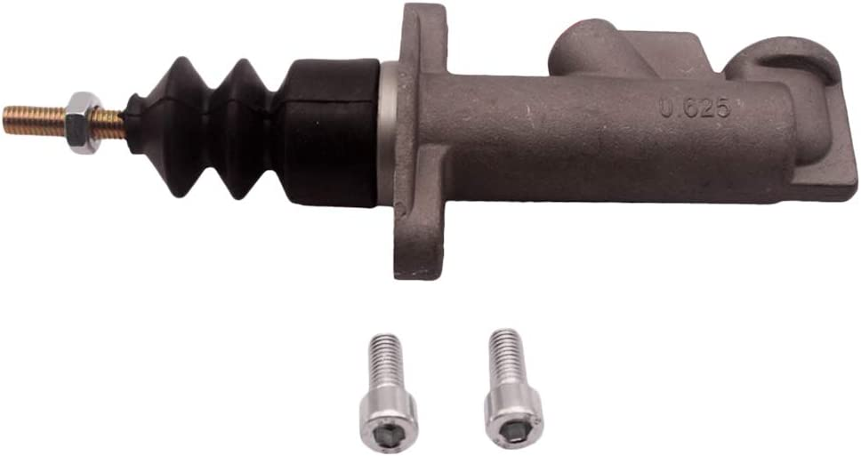Aluminum gazechimp 0.625Inch Bore Thread Car Drift Racing Master Cylinder Hydraulic Handbrake Pump