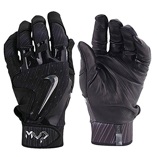 Nike Mens Mvp Elite Baseball Glove Black Glove Size Large by NIKE