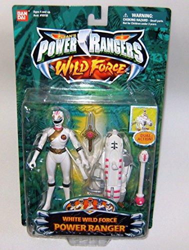 Power Rangers Wild Force White Ranger Action Figure (Power Rangers Morpher Spd compare prices)