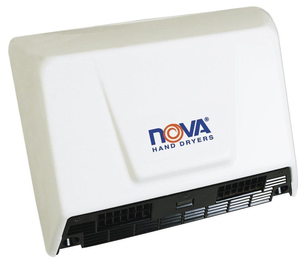 Aluminum White Quik Dryer NOVA Hand Dryer 110-240V