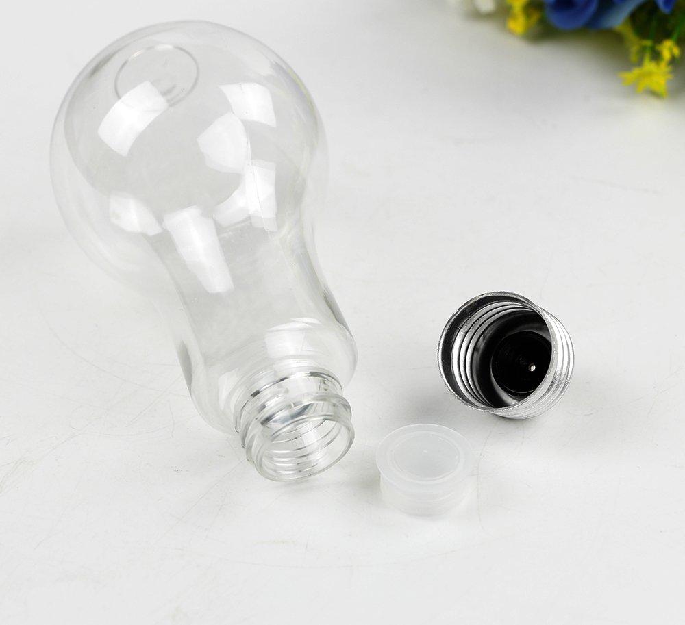 Amazon.com: 12pcs Plastic Light Bulbs Wedding Favors Fillable Clear ...