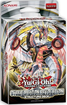 Yu Gi Oh ! Trading Cards (Yugioh TCG Trading Card Game Cyber Dragon Revolution Structure Deck - 42 cards)