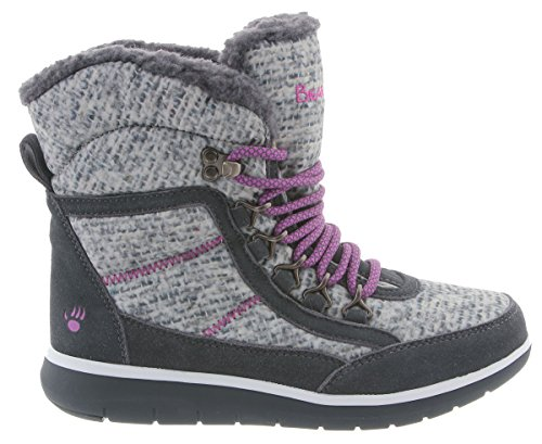 Charcoal Women's Ruby Rubber Bearpaw Suede Boots wX0n50dq