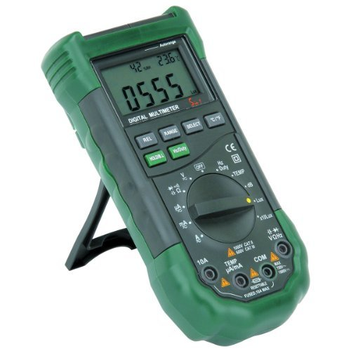 (14 Function Professional Digital Multimeter with Sound Level and Luminosity)