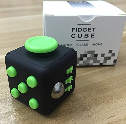 Stress Relief Fidget Cube Toy: Fidget Toy for Relaxing ...