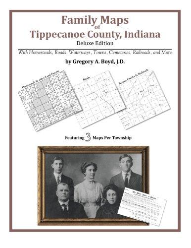 (Family Maps of Tippecanoe County, Indiana)