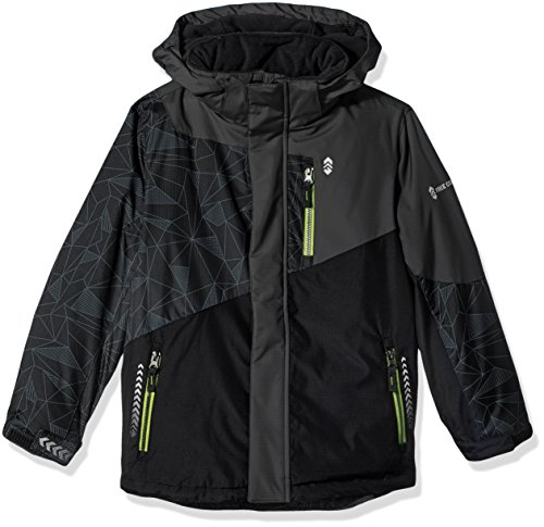 Free Country Little Free Countr Boys Thin Ice Boarder Jacket, Black S(4)