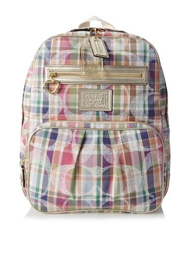 Coach Madras Travel Diaper Backpack