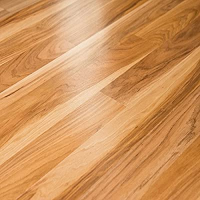 Pergo Accolade Northhampton Hickory 8mm Laminate Flooring LF000581 SAMPLE, Model: LF000581, Tools & Hardware store