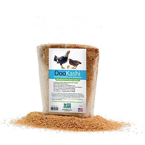 DooKashi for Poultry Coop Odor Eliminator & Compost Accelerator, 2 lb