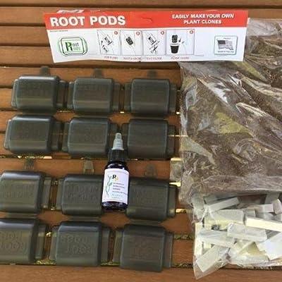 Root Pods Gardener Kit (Grey) : Garden & Outdoor