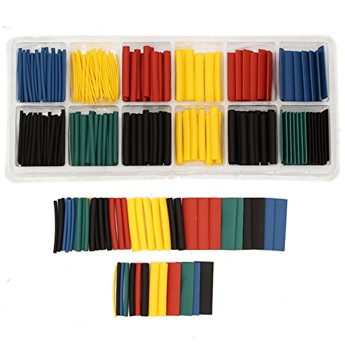 280 Pieces/Lot Assortment Ratio 2:1 Heat Shrink Tubing Tube Sleeve Sleeving for Wrap Kit With Box Electronic Supplies -  SuperToolAZX