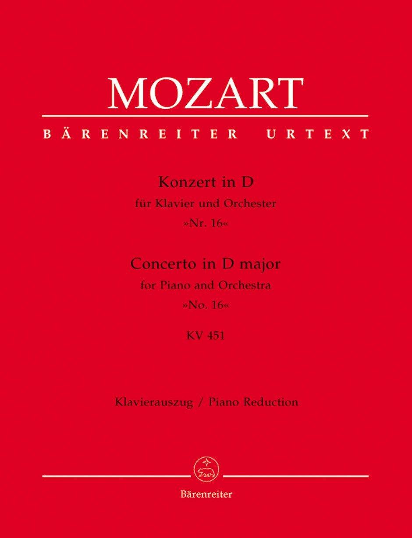 Mozart: Piano Concerto No. 16 in D Major, K. 451 ebook