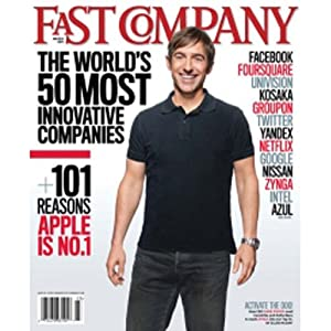 Audible Fast Company, March 2011 Periodical