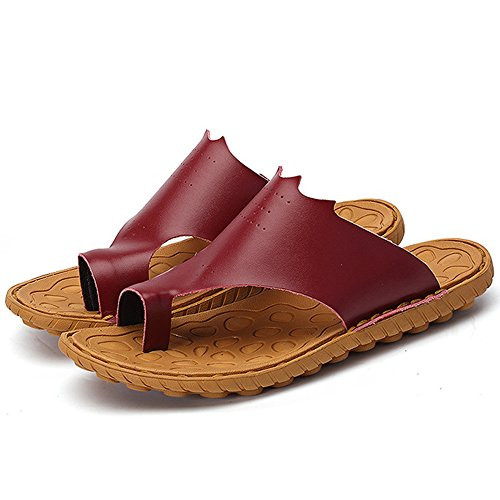 Men's Outdoors Summer REETENE Beach Shoes Red Men Sports Sandals dwIwqrxP5