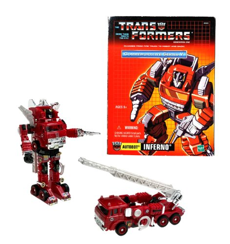 - Hasbro Year 2003 Transformers Generation One Re-Issue Commemorative