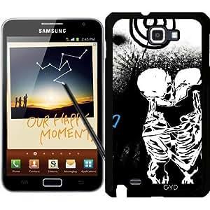 Funda para Samsung Galaxy Note GT-N7000 (I9220) - último Beso by Paslier