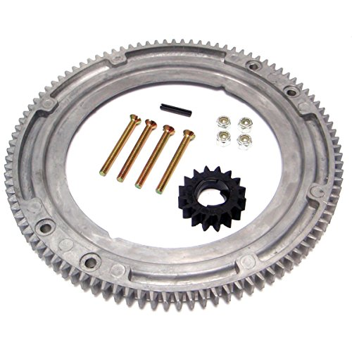 Tooth Aluminum Flywheel (Flywheel Ring Gear for Briggs & Stratton - Replaces 392134, 399676, 696537)