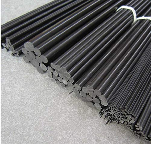 Part & Accessories 2.5mm(Dia) 1000mm Carbon Fiber pultrusion Rod/Solid Rod by Jienie
