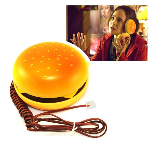 Top_quality Hamburger Cheeseburger Burger Phone Telephone Home Desktop Corded Phone (Burger House compare prices)