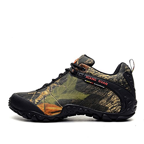 Sport Xiang Professional Camuflaje Tobillo bajo Mode Mujer GUANNeu Funktions Outdoor Stil Znfwx76Tnq