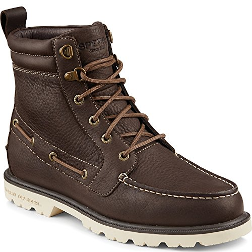 Sperry Top-Sider Men's a/o Lug II WP Chukka Boot, Dark Brown, 10 M US