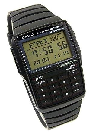 a9fe2f65cf Amazon | [カシオ]CASIO データバンク デジタル 腕時計 DBC-32-1A メンズ ...