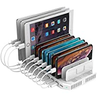 Unitek 10-Port USB Adjustable Dividers Charging Station