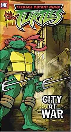 Teenage Mutant Ninja Turtles 14: City at War USA VHS: Amazon ...