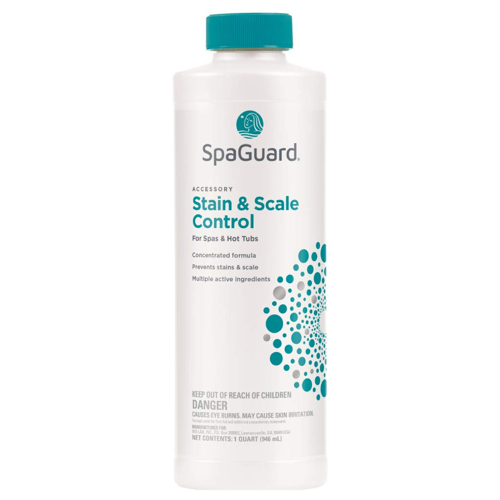 SpaGuard Spa Stain/Scale Control - Quart by SpaGuard