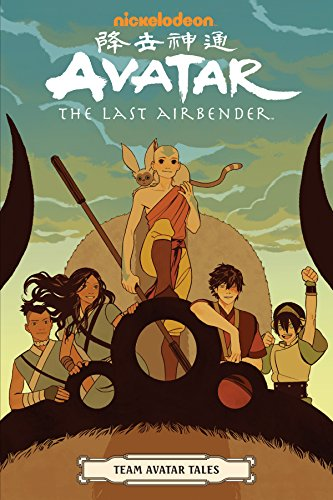 Pdf Graphic Novels Avatar: The Last Airbender - Team Avatar Tales