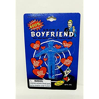 Grow A Boyfriend Water Growing Toys 2 Pack: 1 Blue, 1 Red: Toys & Games