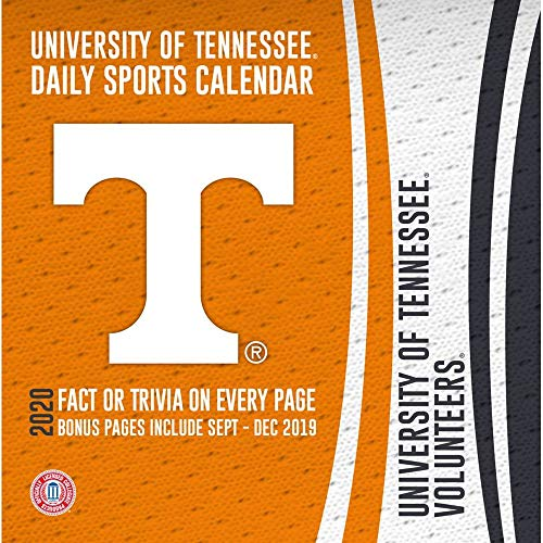2020 Tennessee Volunteers Desk Calendar, by Turner ()