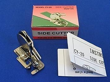 Prensatelas de corte & dobladillo para Máquinas de Coser Brother, Janome y otras máquinas