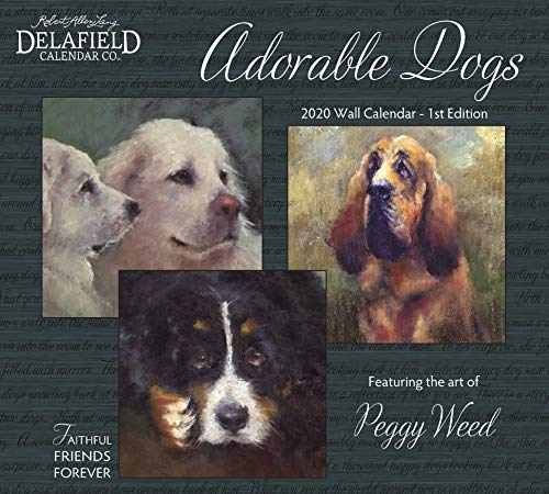 2020 Adorable Dogs Wall Calendar (1st Edition)