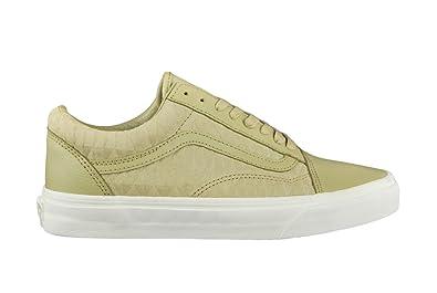 5a96b1f7c9e Vans Women s Old Skool Classics Embossed Va31z9mc3 Running Shoes Green  Grün  Amazon.co.uk  Shoes   Bags