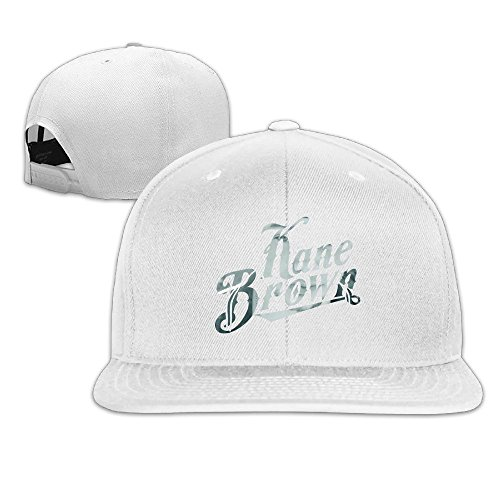 Price comparison product image QWERT Unisex Kane Brown Flat Billed Hats Baseball-caps 1 Size ColorKey