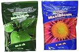 General Hydroponics 718281+718301 Maxigro and Maxibloom Fertilizer, Each 2.2 lbs
