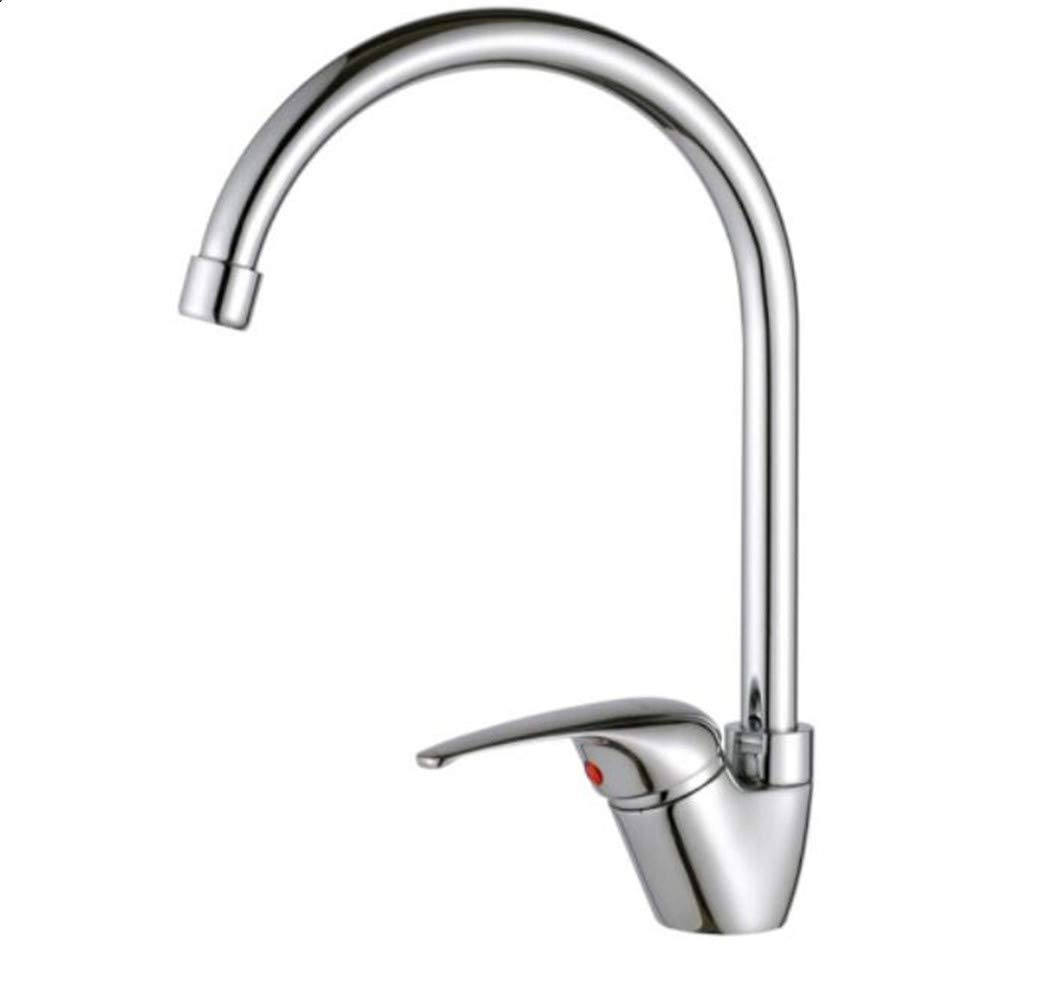Taps Mixer Swivel Faucet Sink Kitchen Faucet Copper Cold and Hot Water Mixing Valve Can redate The Faucet of Kitchen Sink Washing Basin