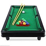 Mini Size Billiard Ball Snooker Pool Table Top Fun Game Set Kids Pocket Toy Gift
