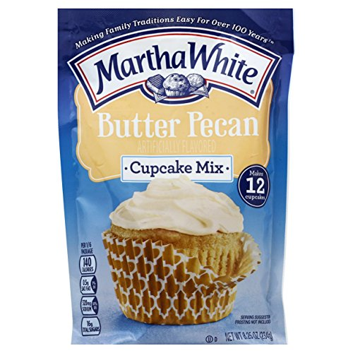 Trail Cake Mix (Martha White Cupcake Mix, Butter Pecan, 8.25 Ounce (Pack of 12))