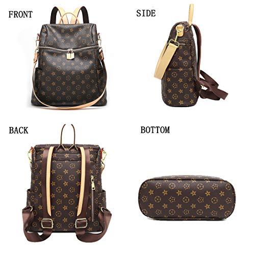BROEN Shoulder for Backpack Purse Backpack STYLE BLACK Crossbady Women AC Mini Fashion School Girls Bag Casual amp; Leather ZUNIYAMAMA Teenage TfPq0vP