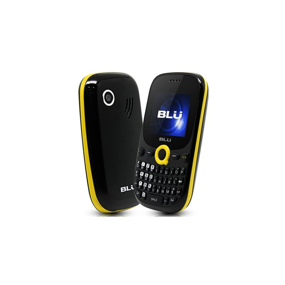 BLU Q110 Samba Q   Unlocked Phone   US Warranty   Retail Packaging   Black/Yellow