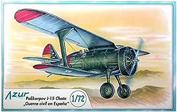Unbekannt Azur A044 – Maqueta de poliparkov I de 15 Chato, Aviación: Amazon.es: Juguetes y juegos