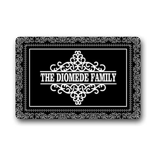(BrowneOLp The Family Name or Any Word Personalized Custom Outdoor/Indoor Funny Doormat Floor Door Mat Non Slip Mats Bathroom Kitchen Decor Entrance 18 X 30 inch)