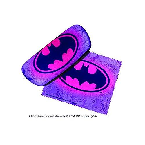 Batman Eyes (Purple Batman Eyeglass Case and Cleaner)