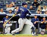 "Evan Longoria Tampa Bay Rays 2016 MLB Action Photo (Size: 8"" x 10"")"
